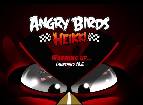 Rovio motorizará a sus pájaros enfadados con 'Angry Birds Heikki'