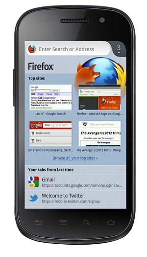 beta firefox android
