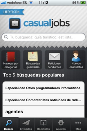 casual jobs app empleo