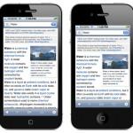 Así se verían las aplicaciones en la supuesta pantalla de 4 pulgadas del iPhone 5