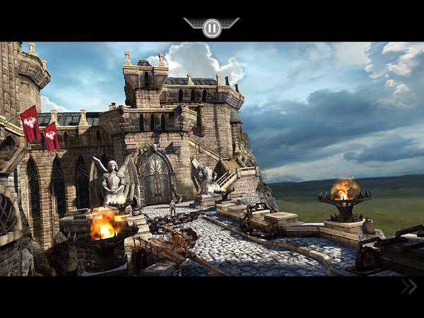 infinity blade app castle