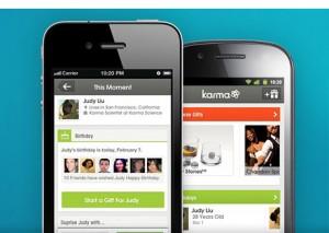 Facebook compra la app de regalos Karma un día después de su salida a Bolsa