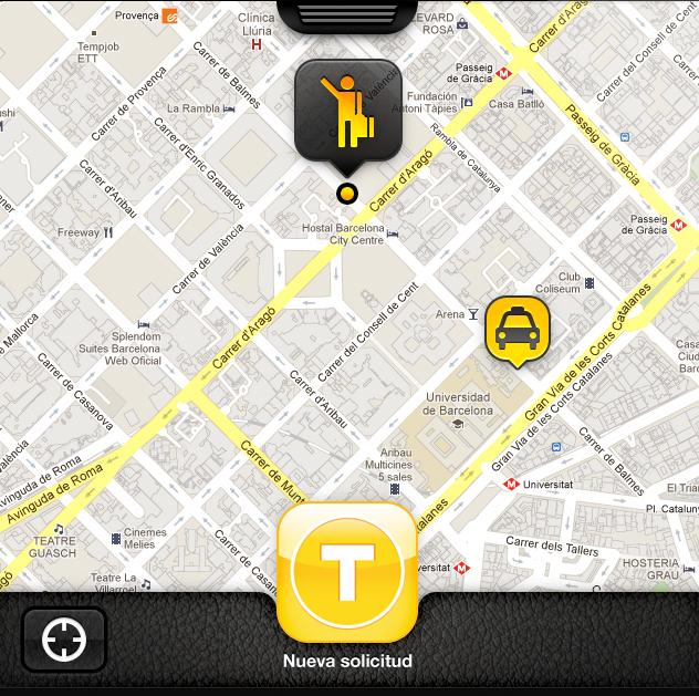 myTaxi: una aplicación para pedir un taxi sin complicaciones