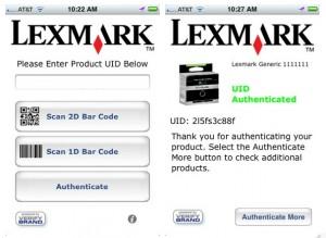 Lexmark lanza una app para detectar cartuchos de tinta falsificados