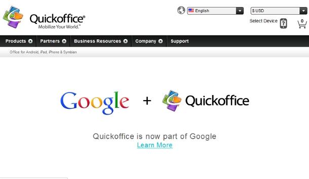 Google se hace con su propio Office para móviles