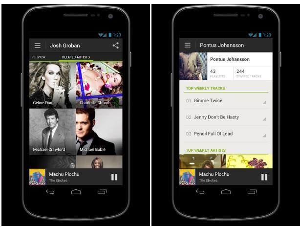 Una nueva aplicación de Spotify aterriza en Android