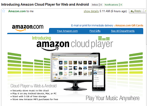 amazon cloud player app