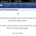 Las apps de Facebook ya te dicen qué amigos están cerca de ti