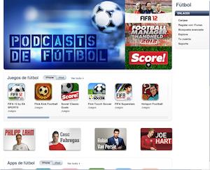 iTunes eurocopa 2012