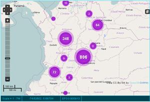 Mapa del trabajo infantil en Colombia