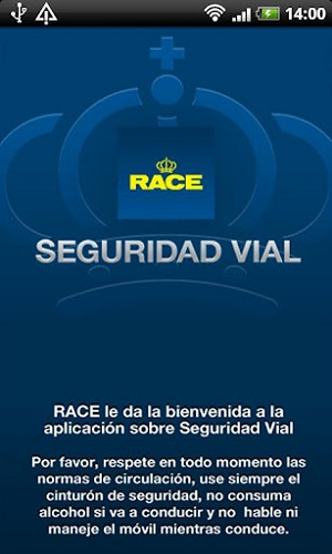 seguridad vial race app