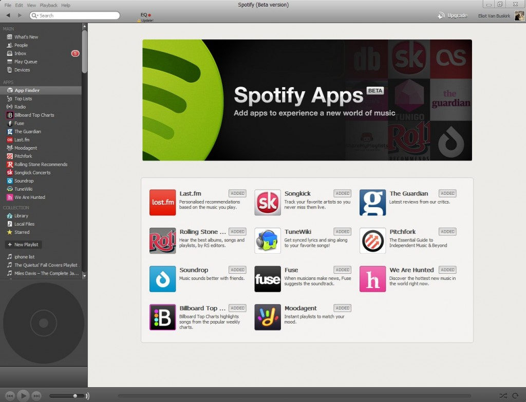 Soundrop, una de las primeras apps de Spotify, obtiene 3 millones de dólares de financiación