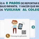"""""""Aquí estoy"""", una aplicación para visibilizar y denunciar el trabajo infantil en Colombia"""