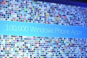 Microsoft confirma que ha superado las 100.000 apps en Windows Phone Markeplace
