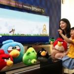 Una versión de Angry Birds con gestos, a punto de llegar a las Smart TV de Samsung