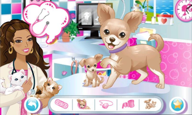 Barbie se juega su futuro profesional en una app de Windows Phone