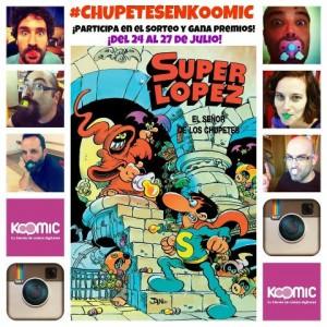Sube tu mejor foto de Instagram con chupete y gana un cómic de Superlópez