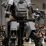 Kuratas: Un robot de 4 metros de altura controlado con una app de iPhone