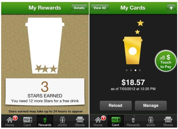Los pagos de cafés de Starbucks mediante una aplicación llegarán a España en 2013