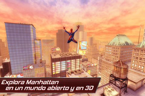 The Amazing Spiderman: Un juego para subirse por las paredes