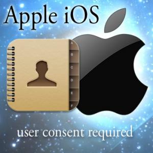 Dos de cada diez apps de iOS acceden a la agenda de contactos sin pedir permiso