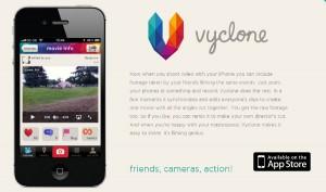 Vyclone, la app social del hijo de Sting para crear vídeos multicámara