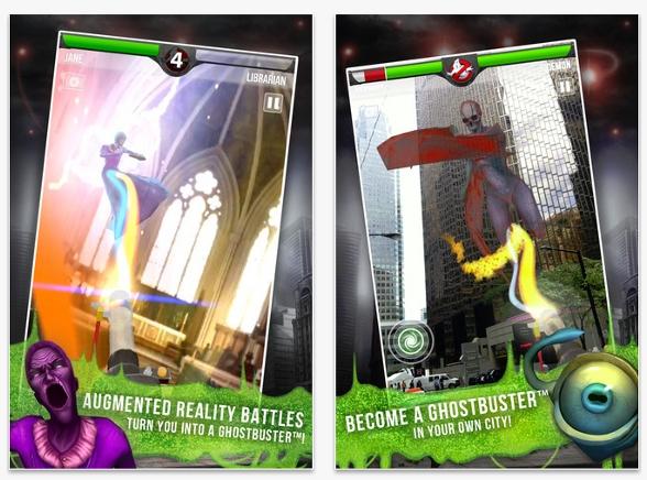 Ghostbusters Paranormal Blast: Caza fantasmas en realidad aumentada en tu iPhone o iPad