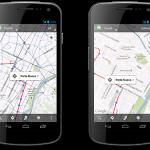 Google Maps para Android ya permite consultar el tránsito por cada tipo de transporte público