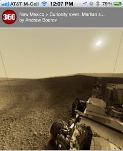 Explora Marte de forma inmersiva con tu iPhone