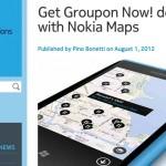 Nokia Maps incorpora ofertas de Groupon