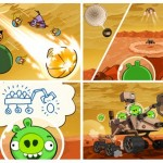 Angry Birds Space: algo está pasando en Marte…
