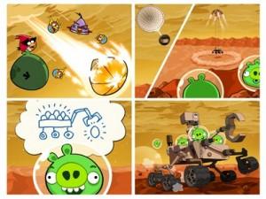 Angry Birds Space: algo está pasando en Marte...