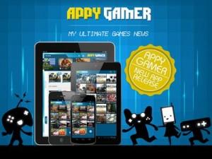 Appy Gamer, la herramienta definitiva para conocer las últimas noticias de videojuegos