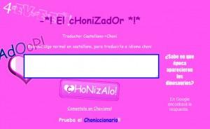 Traduce tu nombre al lenguaje cani con El Chonizador
