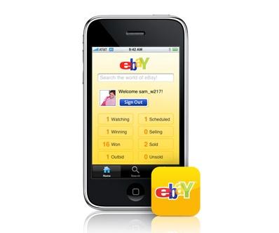 las apps de ebay y amazon las m s usadas para compras m viles applicantes informaci n sobre. Black Bedroom Furniture Sets. Home Design Ideas