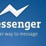 Facebook también actualiza su particular messenger para iPhone y iPad