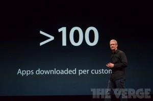 La App Store rebasa las 700.000 aplicaciones