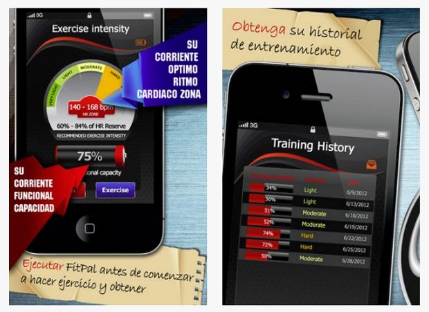 FitPal te ayuda a hacer ejercicio en su justa medida