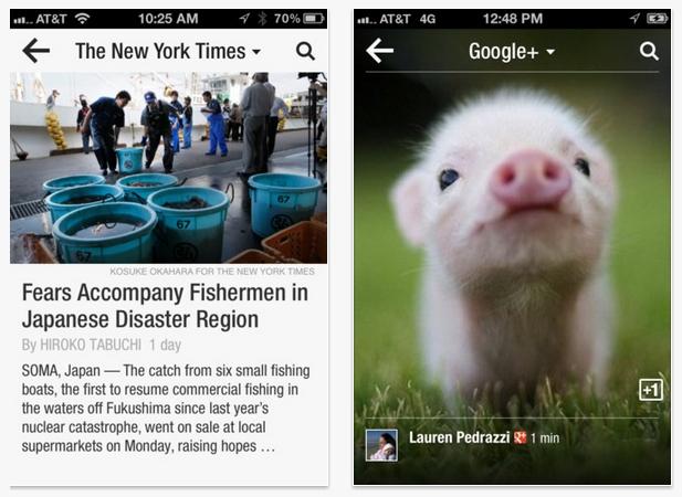 Flipboard lanza una actualización para adaptarse al iPhone 5