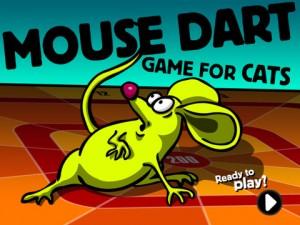 Mouse Dart: Enseña a tu gato a cazar ratones con el iPad