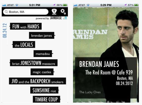 Timbre, una app para descubrir los conciertos que hay cerca