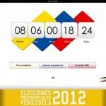Las elecciones presidenciales de Venezuela 2012 ya tienen su app para iPhone e iPad