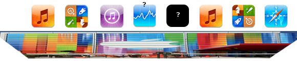 ¿Apps encubiertas en las banderas del edificio donde se presentará el iPhone 5?