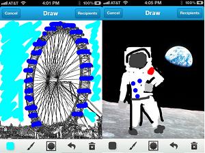 draw chat app