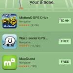 Apple incluye una nueva sección de apps de mapas en la App Store