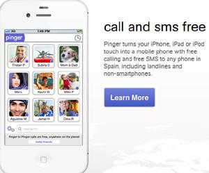 Llamadas gratis a cualquier teléfono gracias a la app de Pinger