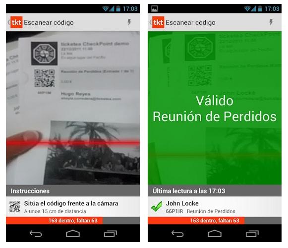 Ticketea CheckPoint ya está disponible para Android