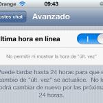 WhatsApp suprime el aviso de última conexión