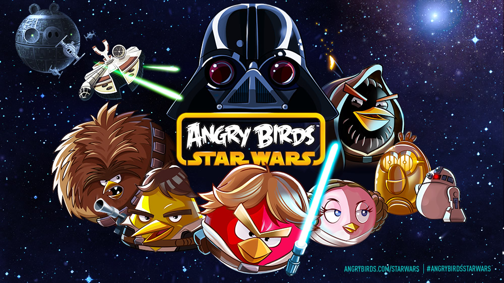 Primer trailer de Angry Birds Star Wars