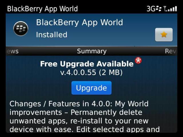 BlackBerry App World 4.0: la tienda de RIM se hace más personal y editable